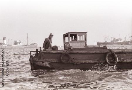 Osaka harbour 1964