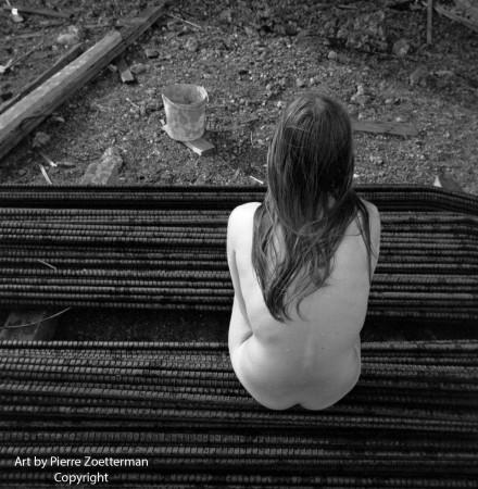 Yvonne vid sätra vattentorn 1966 24