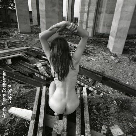 Yvonne vid sätra vattentorn 1966 9