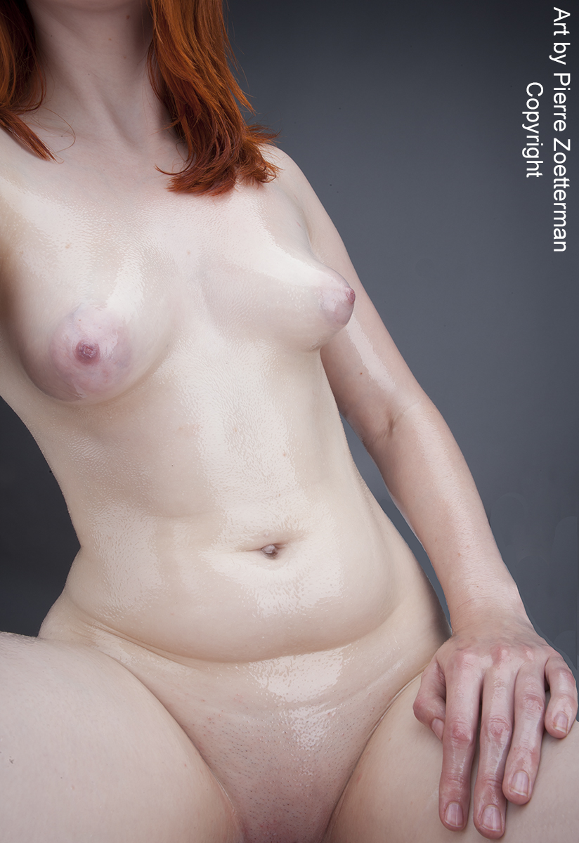 pale skin nude female