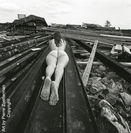 Yvonne vid sätra vattentorn 1966 11