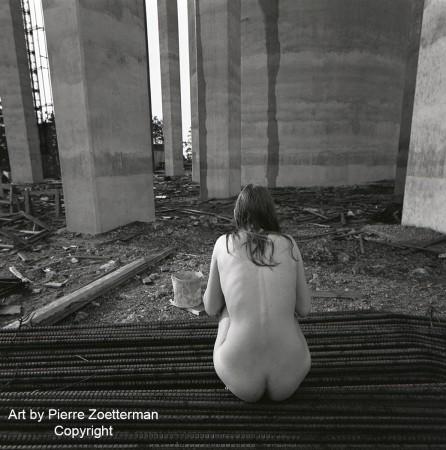 Yvonne vid sätra vattentorn 1966 8