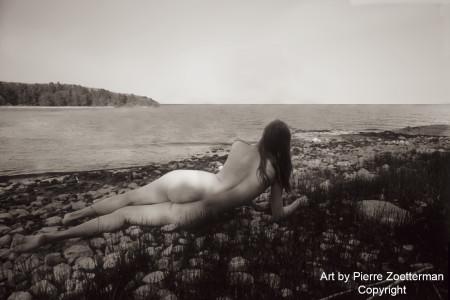 Yvonne på resarö 1966 3