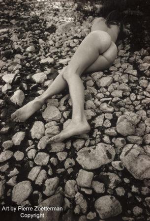 Yvonne på resarö 1966