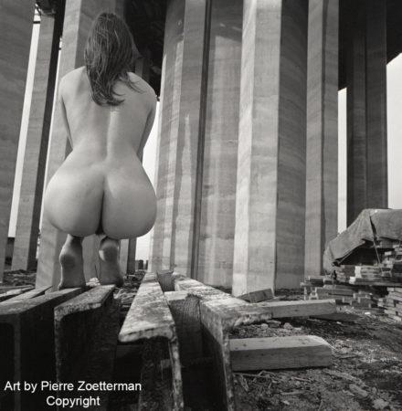 Yvonne vid sätra vattentorn 1966 6